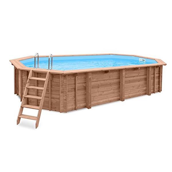 imagen piscina de madera 860cm x 470cm x 130cm