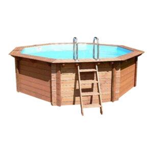imagen piscina de madera 360cm x 130cm