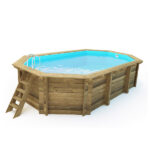 imagen piscina de madera Nika 657cm x 407cm x 120cm