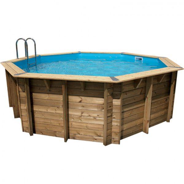 imagen piscina de madera 580 cm x 130 cm
