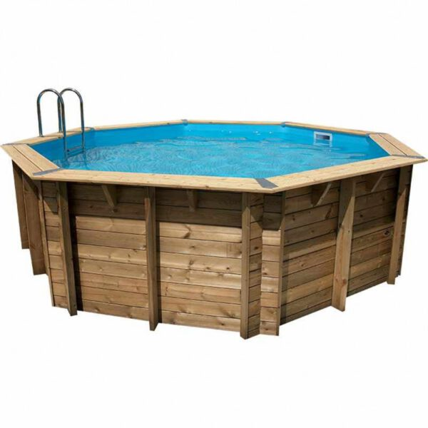 imagen piscina de madera sun 360cm x 120cm