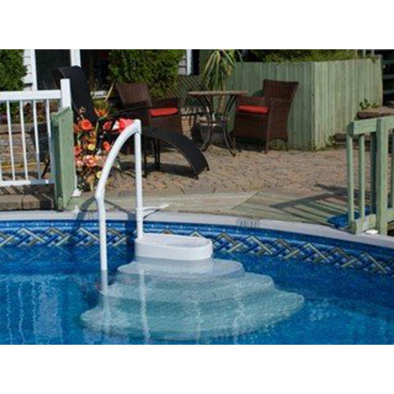 Escalera sin obra olimpia para piscinas piscinas athena - Escaleras de piscinas baratas ...