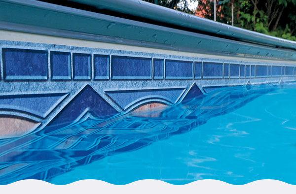 Cenefas de piscinas y decoraciones piscinas athena for Piscinas athena