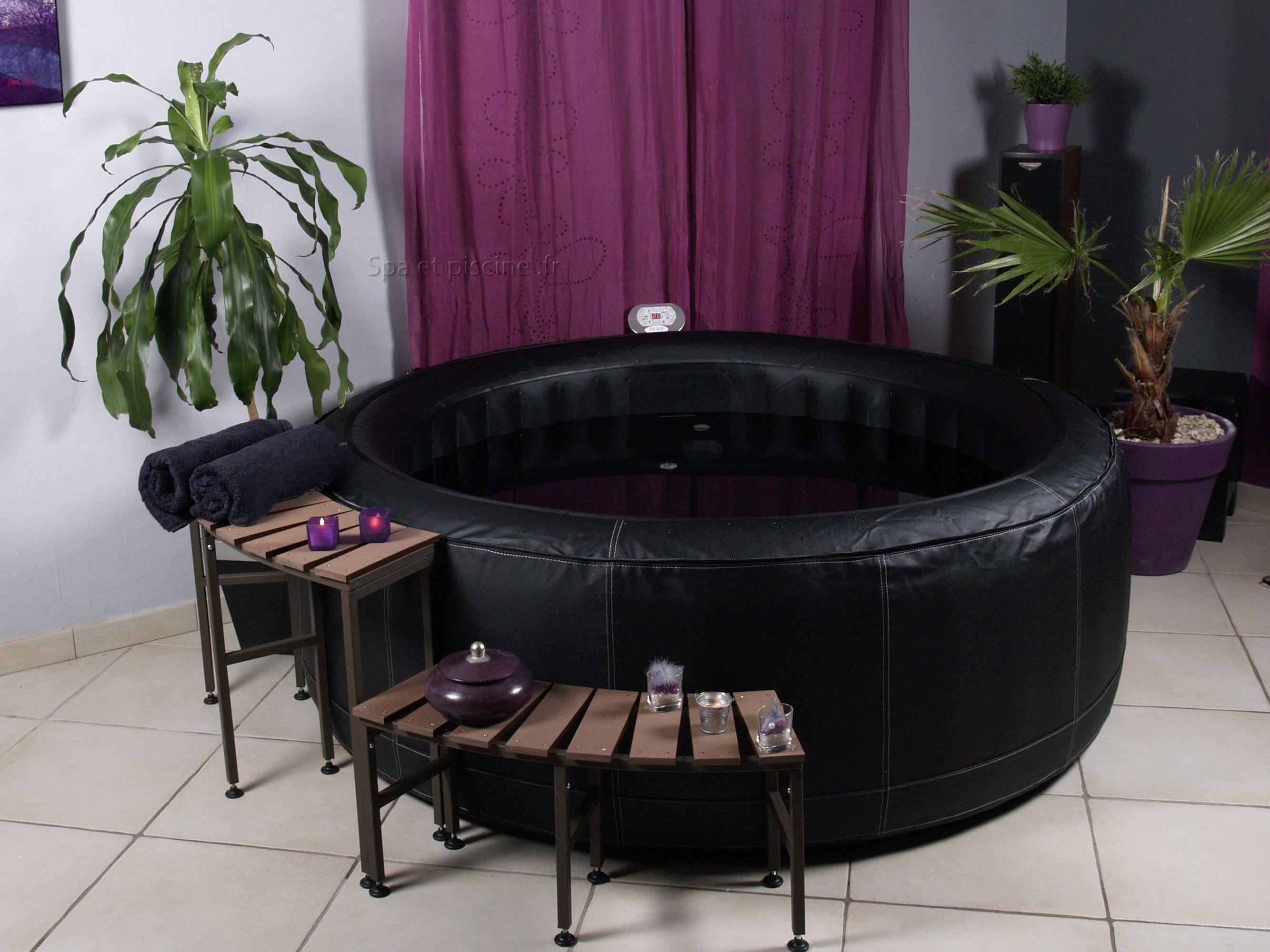 Mueble de acompa amiento para spa hinchable piscinas athena for Muebles hinchables