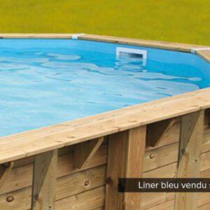 imagen Liner original de recambio para piscina de madera 6,1 X 4 x 1,30/1,45m