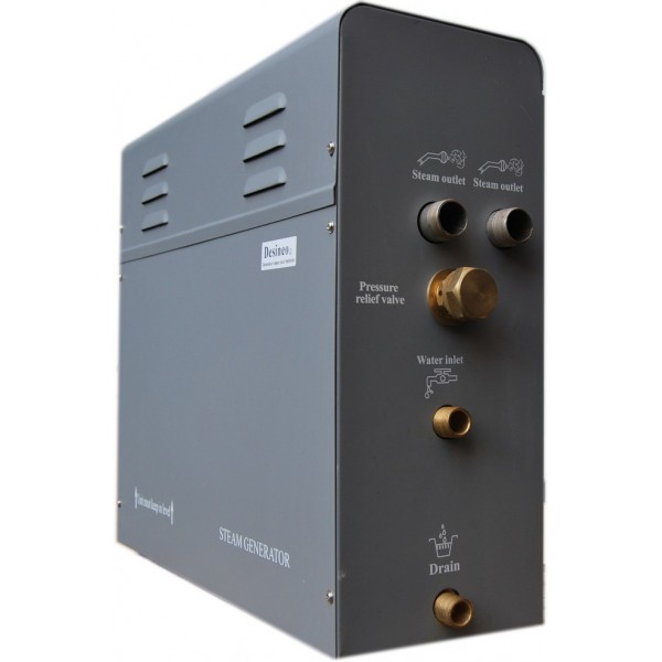 imagen generador de vapor Desio de 4 Kw