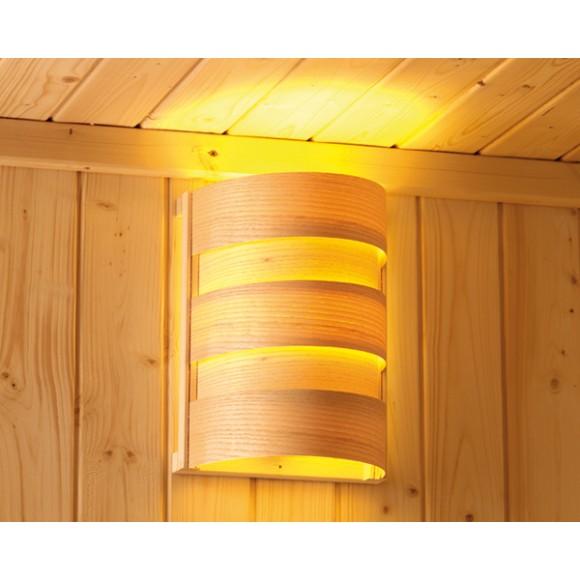 Lampara interior cl sica para el alumbrado de su sauna - Lamparas solares interior ...