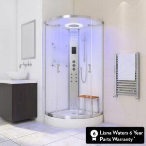 imagen cabina de hidromasaje vapor LW3 White