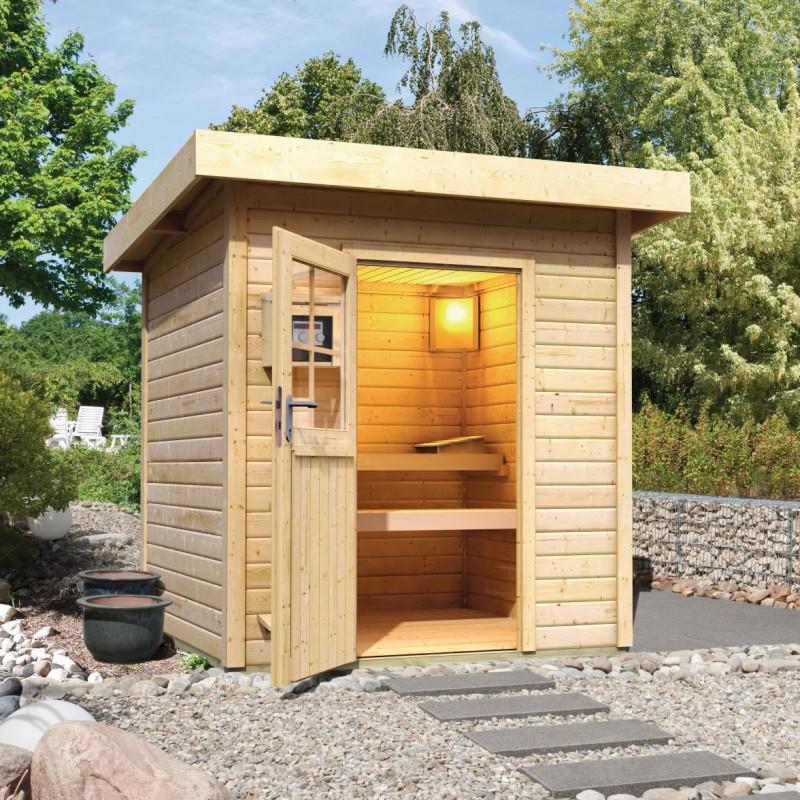 sauna finlandesa torge para exterior piscinas athena. Black Bedroom Furniture Sets. Home Design Ideas