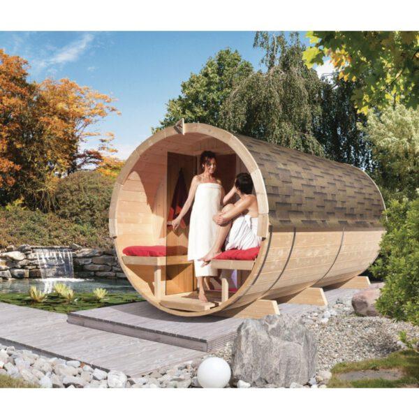 imagen sauna Finlandesa de Barril 4