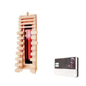 imagen emisor de infrarrojos dorsal para sauna