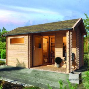 imagen sauna Finlandesa Chalet 4