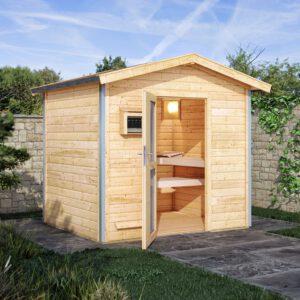 imagen sauna Finlandesa Chalet 2