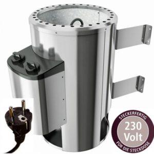 imagen caldera de sauna 3,6KW con mando integrado