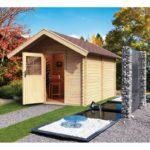 imagen sauna Finlandesa Chalet 3