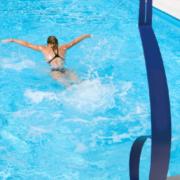 imagen natación estática Pool Trainer