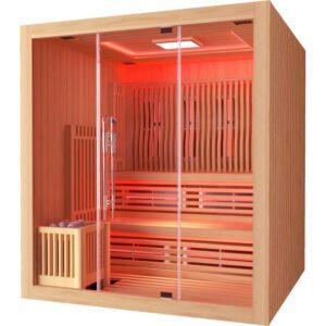 imagen sauna Finlandesa + Infrarrojos Boreal Elegance