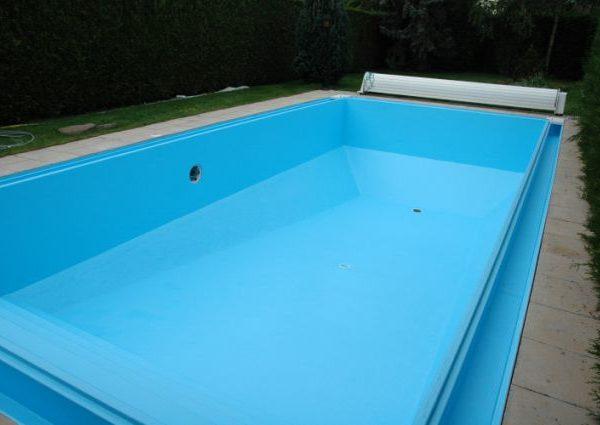Liners 60 100e liso piscinas athena for Prix pose liner piscine 8x4