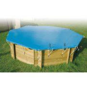 imagen Cubierta de seguridad para piscina de madera Sun 3,60m