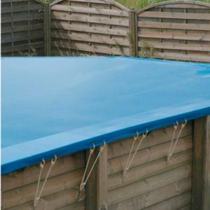 imagen cubierta de seguridad para piscina de madera Sun 4,90 x 3,00m