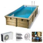 imagen piscina de madera Urban pool 4,50 x 2,50 x 1,40m