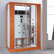 imagen cabina de vapor con infrarrojos Kreta
