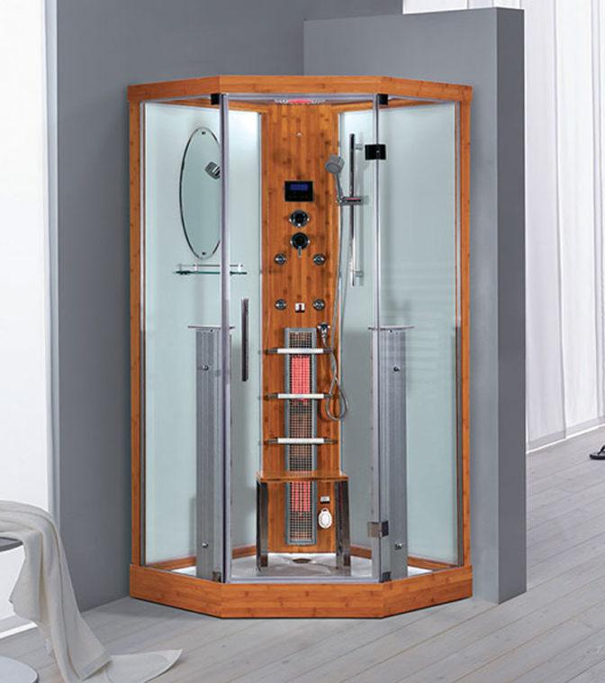 imagen cabina de vapor con infrarrojos Kos