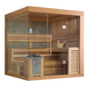 imagen sauna Finlandesa de diseño PS 1246
