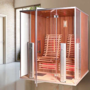 imagen sauna de infrarrojos Argos
