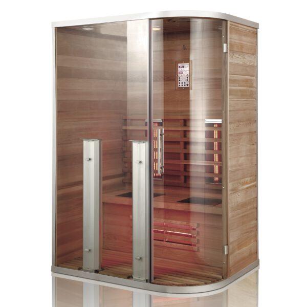 imagen sauna de infrarrojos Lobos