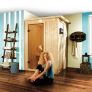 imagen sauna Finlandesa Lenja Karibu