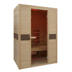 vista sauna de infrarrojos Ruby 2