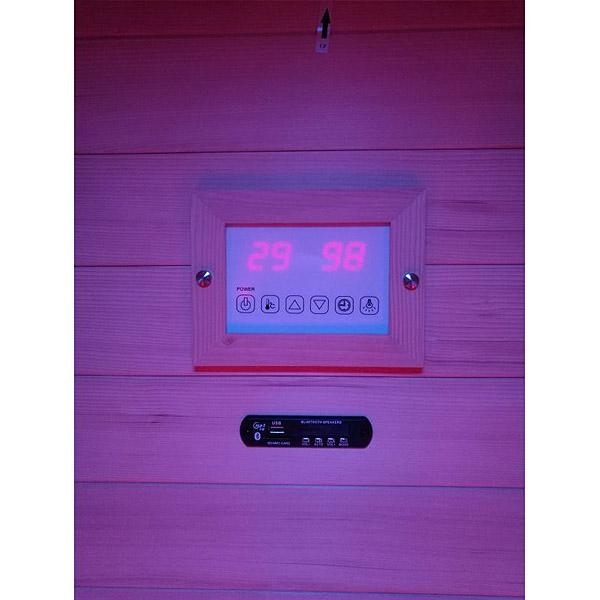 imagen Panel de control Sauna ruby 111