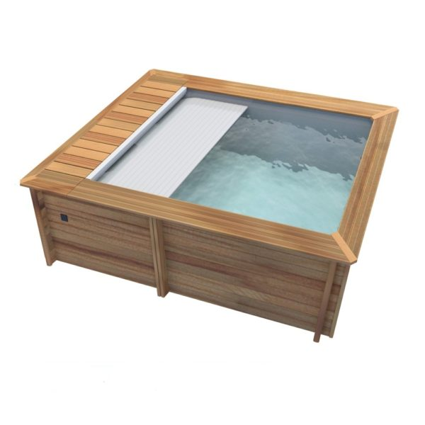 imagen piscina de madera Urbaine 4,20