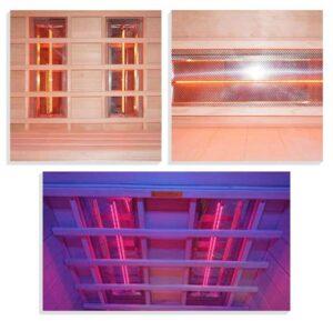 imagen montaje Sauna Ruby -