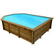 imagen piscina de madera Nika6,38