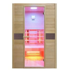 imagen sauna-de-infrarrojos-2-plazas-de-espectro-completo-Ruby-2