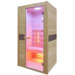 sauna de infrarrojos ruby 1