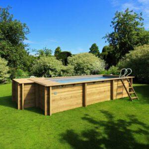 imagen piscina de madera Urbaine 6,00