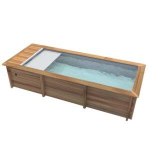imagen piscina de madera Urbaine 6,50