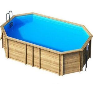 imagen piscina de madera Weva Octo + 840