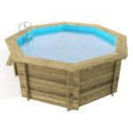 imagen piscina de madera Nika 5,10 x 1,20m