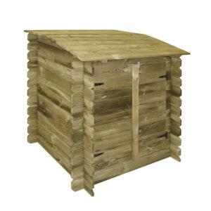 caseta de madera depuradora