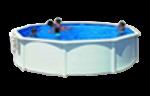 piscina de acero
