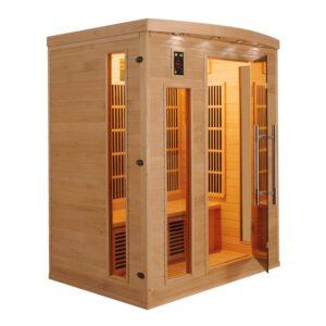 imagen sauna de infrarrojos Apollon 3