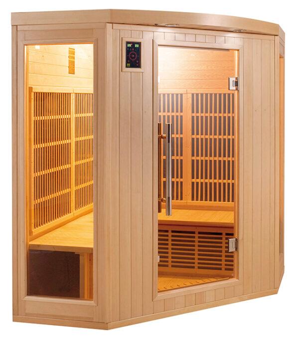 imagen sauna de infrarrojos Apollon 3/4