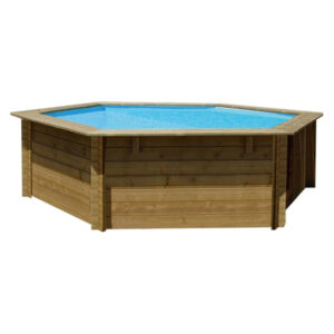 piscina de madera Lili vista