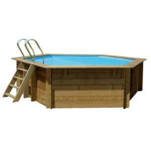 imagen piscina de madera vanille