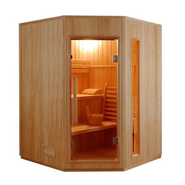 imagen sauna Finlandesa Zen 3/4 plazas