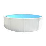 piscina punta cana acero blanco